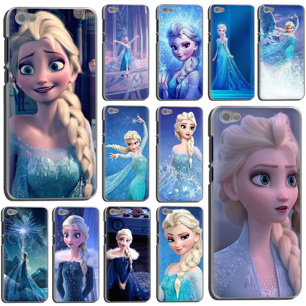 Snow Queen Elsa Hard Phone Cover Case For Xiaomi Redmi K30 Poco X2 4A 4X 5 5A 6 6A 7 7A Plus GO S2 K20 Pro