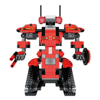 Hot ! DIY Creative Toolbox Technic Smart Robot RC Remote Control Tracked Power Function Building Blocks Technic Brick Toys