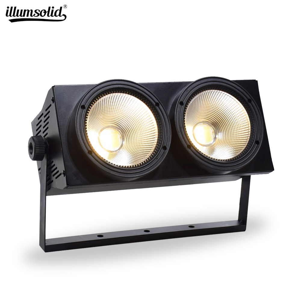LED Par Lights Rgbw 2x100w COB Stage Light Equipment Led Stage Backdrop Light