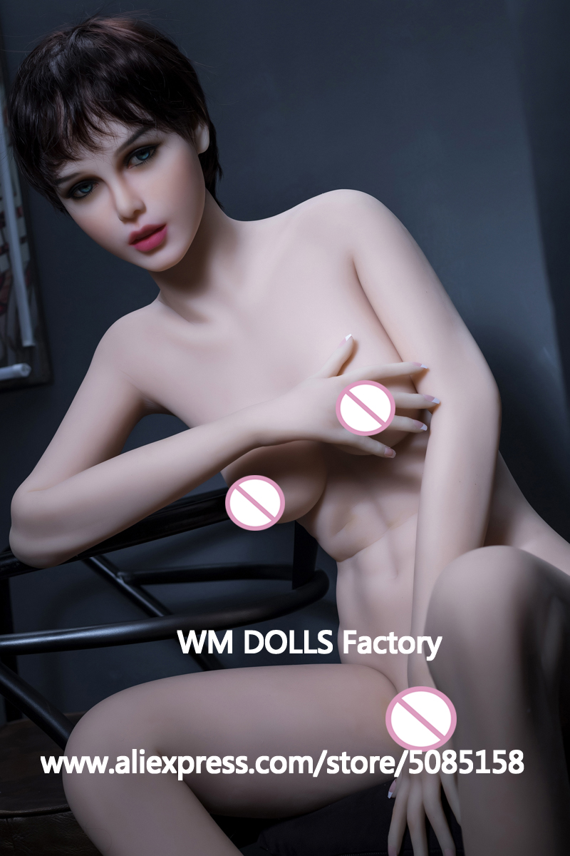 Image 4 - WMDOLL 168CM Top Quality Full Silicone Sex Doll For Men Sexy Dolls Realistic vagina small breast love doll masturbator adult toy-in Sex Dolls from Beauty & Health