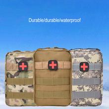 Taktyczne w nagłych wypadkach torba pierwszej pomocy Mini etui na zewnątrz podróży Camping przenośne trwałe medyczne szybkie pakiet przetrwania apteczka pierwszej pomocy cheap Other