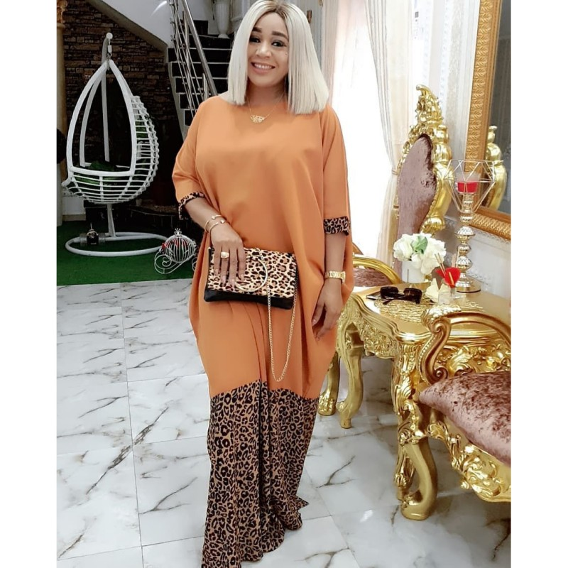 New Style Classic African Dresses For Women Dashiki Summer Plus Size Dress Ladies Traditional African Clothing Fairy Dreams