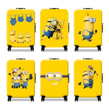 Cartoon luggage protection box Thicker Travel Luggage Suitcase Protective Cover for 18-32 inch travel suitcase accessories
