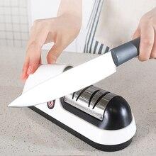 Knife Sharpener Scissor Grinder Drill Kitchen-Tools Stainless-Steel Multifunction Professional
