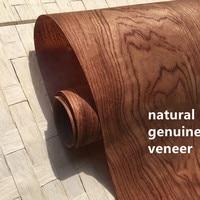 2X Natural Veneer Wood Veneer Sliced Veneer with non woven Tissue Bubinga Ebana  C/C|Furniture Accessories| |  -