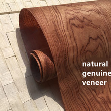 2X Natuurlijke Fineer Hout Fineer Gesneden Fineer met non woven Tissue Bubinga Ebana C/C