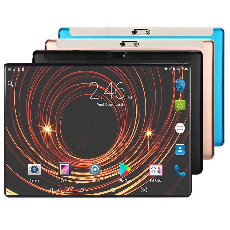Hot Sale New Year 10.1 Inch Tablet PC 3G 4G LTE Original Android 8.0 Octa Core 6GB RAM128GB ROM WiFi GPS 10.1 IPS 1280*800