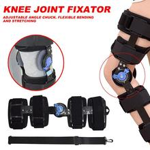 Adjustable Knee Joint Fixator Wrap Around Hinged Brace Support Bracket Fitness Sports Safety Equitments 2019