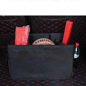Image 1 - Auto lagerung box M LOGO Auto Stamm Lagerung box Veranstalter Taschen Für BMW X1 F25 X3 X4 F15 X5 F16 x6 1 2 3 5 Serie F10 F20 F30 F34
