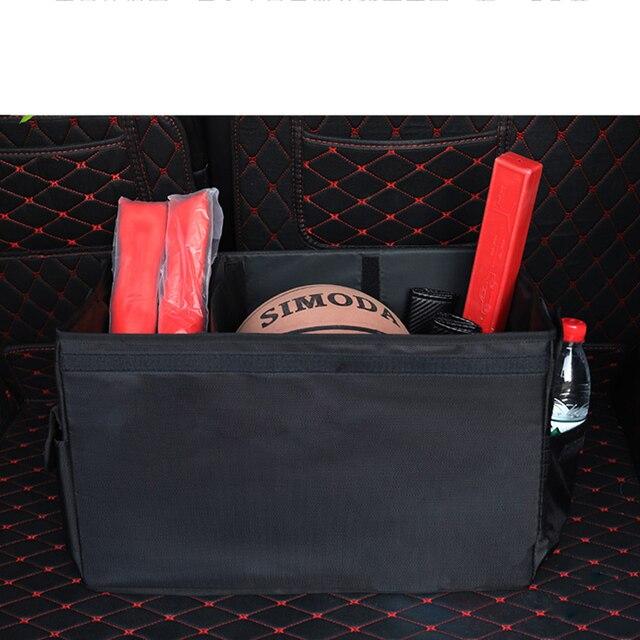 Auto lagerung box M LOGO Auto Stamm Lagerung box Veranstalter Taschen Für BMW X1 F25 X3 X4 F15 X5 F16 x6 1 2 3 5 Serie F10 F20 F30 F34