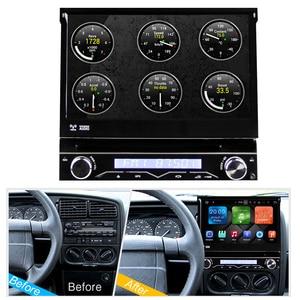 Image 2 - Eunavi 1 Din Android 9.0 8 Core Car DVD Player For Universal GPS Navigation Stereo Radio WIFI MP3 4G RAM 64G ROM Audio USB SWC