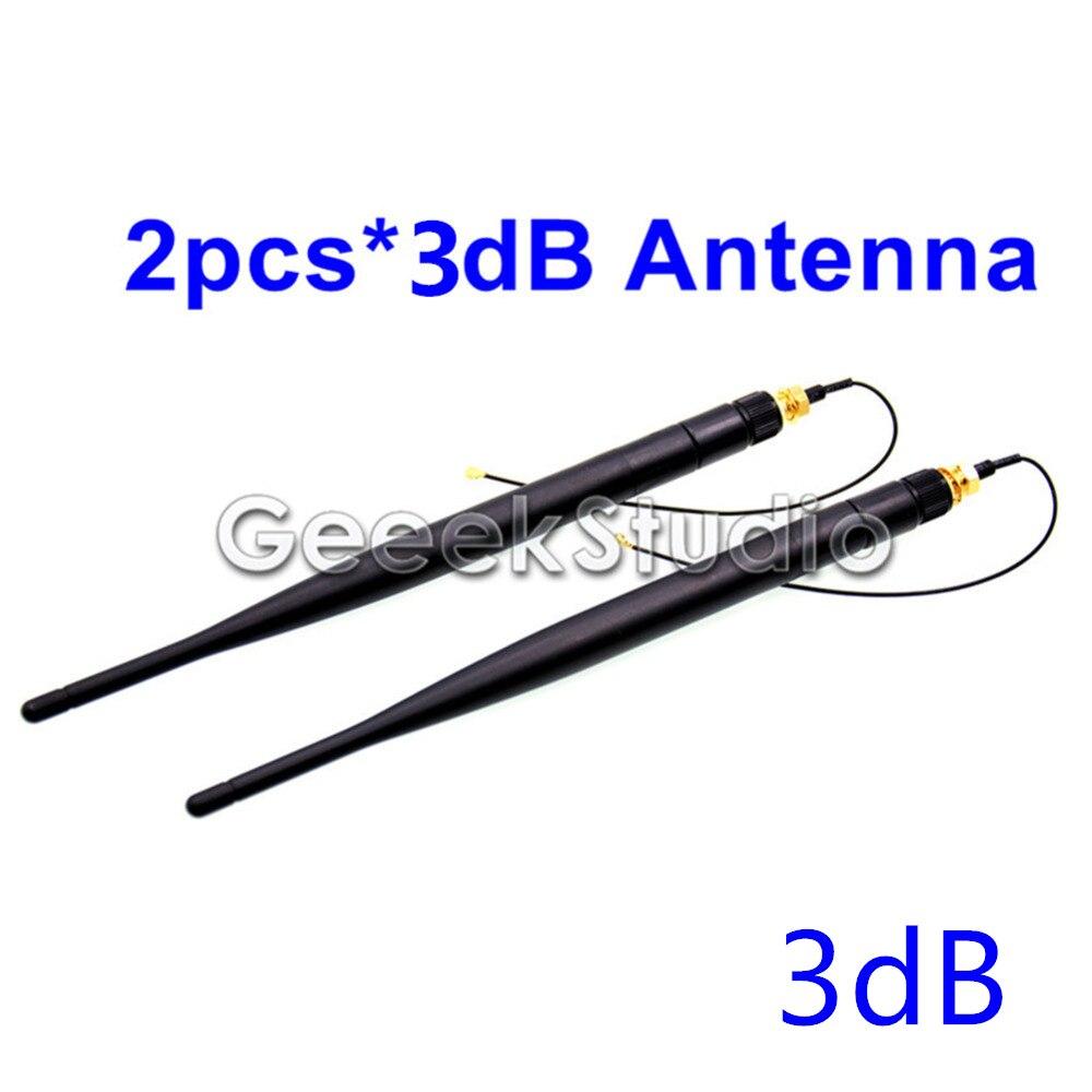 2pcs/lot 3dB WiFi Antenna For BPI-M64,BPI-M3,BPI-M2U,BPI-M2 Ultra,BPI-M1+plus. Banana PI BPI M64 M3 M2 Ultra M2U M1+ Antenna