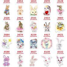 Craft-Supplies Back-Planar The-Rabbit Character DIY Resins Flat Cartoon 30 PR-1030-6332