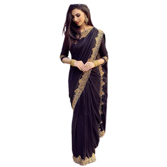 Indian Dress Women Islam Traditional Plus Size Lace Indian Saree Decoration Elegant Dress Hindu For Women Vestido Indiano - 028 5