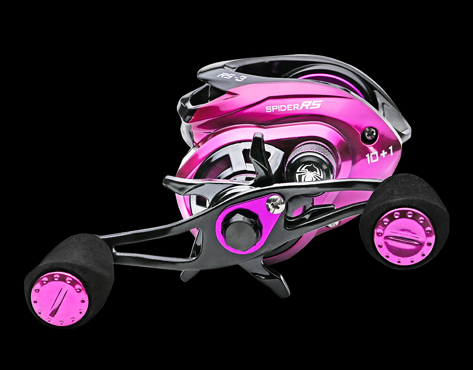 Arremesso 7.3:1 velocidade Da Engrenagem Carretel da Carcaça de Pesca Da Carpa