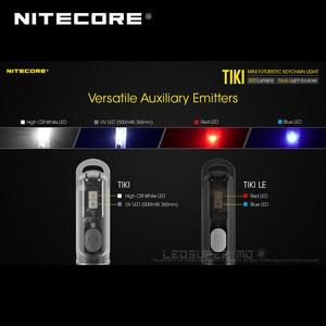Image 3 - Mini Futuristische Nitecore Tiki/Tiki Le Usb Oplaadbare Sleutelhanger Licht Ingebouwde Li Ion Batterij