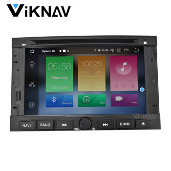 2 DIN Android 10 Car radio For Peugeot 3008 5008 2010-2016 car stereo autoradio auto audio headunit GPS navigation dvd player image