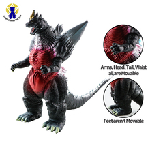 15cm Kaiju Dinosaur Action Figure Model Collection Toys Large Size PVC Body Turnable Figure Toy For Boy Kids Birthday Gift large size classic dinosaur toy triceratops soft animal model collection for boys action