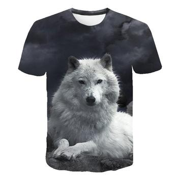 3D printing T-shirt bear O-neck cute fashion men 3DT shirt sexy male XXS -6XL