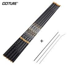 Goture Seeker Telescopic Fishing Rod Carbon Fiber 3.6m 4.5m 5.4m 6.3m 7.2m Carp Stream Fishing Rod Tenkara Feeder Rod Hand Pole