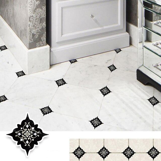 15PCS 8x8cm Retro Design Home Decoration Stickers Wall Stickers Self Adhesive Floor Wall Ceramic Tile Sticker DIY Wall Decor 1