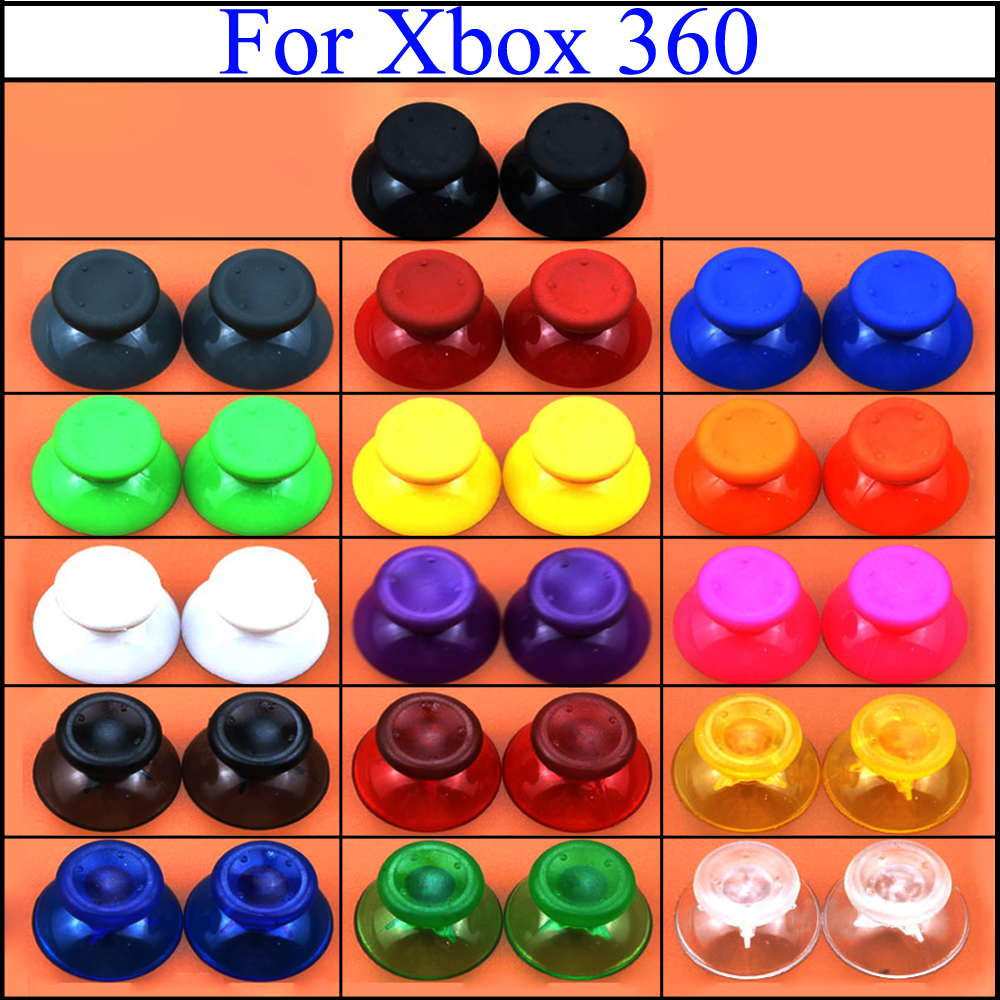 YuXi Thumbsticks الإبهام عصا التحكم غطاء الفطر رئيس الروك قبعات غطاء مقبض لاستبدال مايكروسوفت Xbox 360 المراقب المالي|الإكسسوارات وقطع الغيار البديلة| - AliExpress