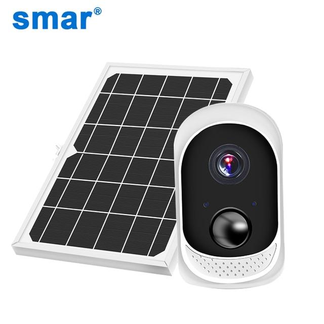 2MP Security Solar Camera Power Outdoor Waterproof Wifi IP Camera Night Vision Surveillance CCTV Camera Video Recorder 32G Card 1