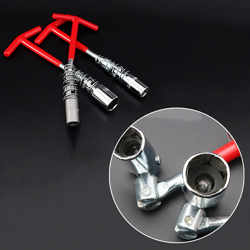 The Key Of The Candle On The Cardan Is 14/16/21mm, The T-shaped Candle Key, Candle Wrench With Hinge And Rubber Band, Spark Plug Tool