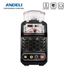 ANDELI Intelligent Portable Single Phase 110V/220V DC Inverter Pulse Tig Welder Spot Welding Tig Welding Machine