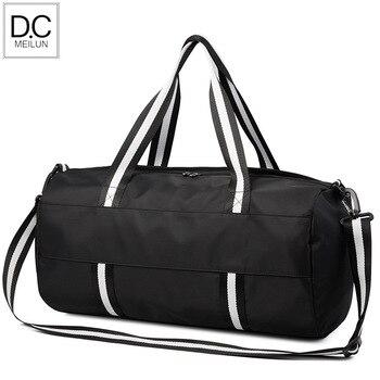 DC.Meilun Waterproof Roomy Men Sports Travel Bag Fashion Women Gym Back Pack Capacious Men's Shoulder Bag With Shoe Pouch