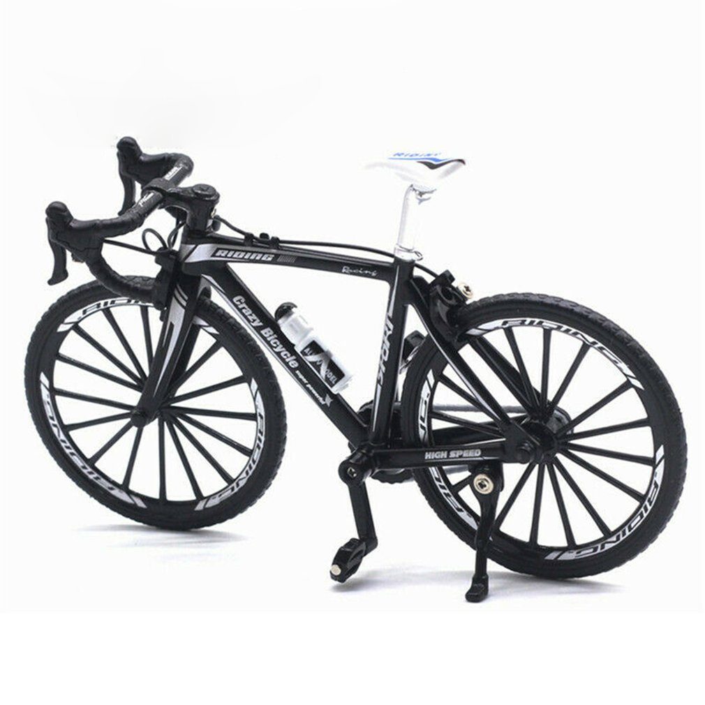 1:10 сплав литой металлический велосипед дорожный велосипед Модель велосипедные игрушки для детей Подарки Игрушки транспортные средства дл...