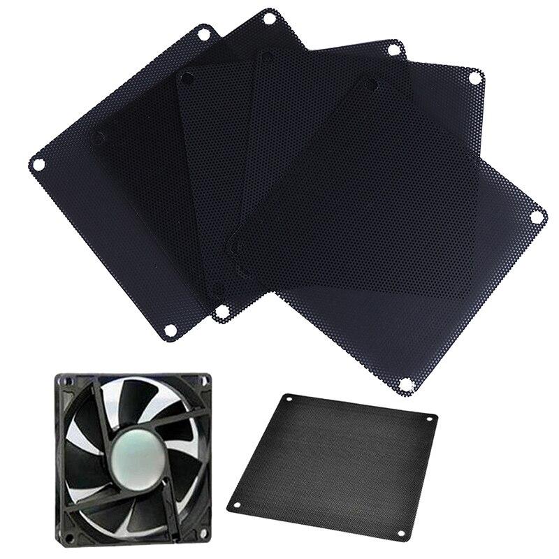 5Pcs 140mm PVC PC Fan Dust Filter Dustproof Case Computer Cooler Cover Mesh