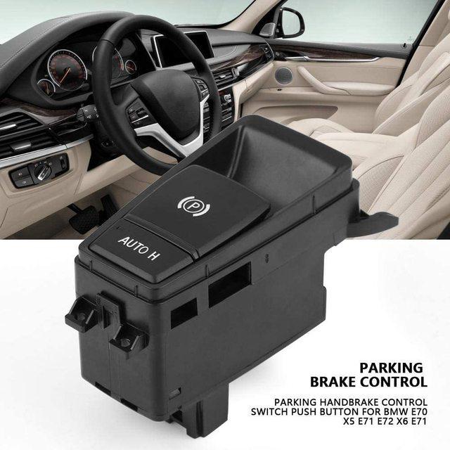 For BMW X5 X6 E70 E71 E72 Electric Parking Brake Control Switch Auto Hold EMF Button for E70 E71 E72 X5 X6 OE 61319148508