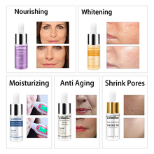LANBENA Hyaluronic Acid Facial Serum Skin Care Shrink Pores Essence Blackhead Remove Repair Whitening Anti-Aging 24K Gold Serum
