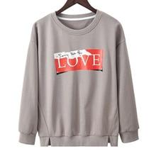 Hoodies Women 2019 Autumn Women's Sweatshirt Split Design Loose Long Sleeve Kpop Ladies Streetwear Clothes Sudadera Mujer