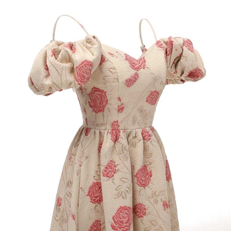 Cap sleeve off spalla di brevetto da sera in raso formale abito del partito del vestito da promenade 2019 - 4