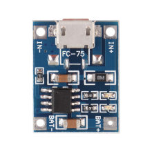 5V Mini MICRO USB 1A TP4056 Batterie Au Lithium Module Accumulateurs li-ion Chargeur Module de Carte En Gros(China)