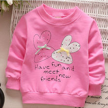 Shirt Sweater Hoodie Girl Cotton Long-Sleeved Spring And Autumn Children's New