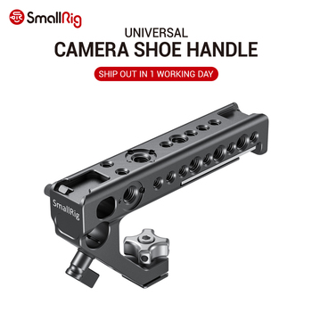 SmallRig Quick Release Camera Shoe Handle Grip Can Use W/ SmallRig Z6 L Plate w/ ARRI Locating Hole DIY Camera Stabilizer 2094 smallrig aluminum arri locating side handle with cold shoe mount for universal camera cage with arri locating hole 2426