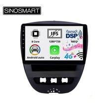Sinosmart 8 ядро dsp48eq ips/qled 25d экран автомобильный gps