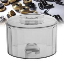 Profesyonel plastik parlatma varil davul manyetik Tumbler parlatıcı makinesi aksesuarı takı yapma aracı kuyumcu için bir