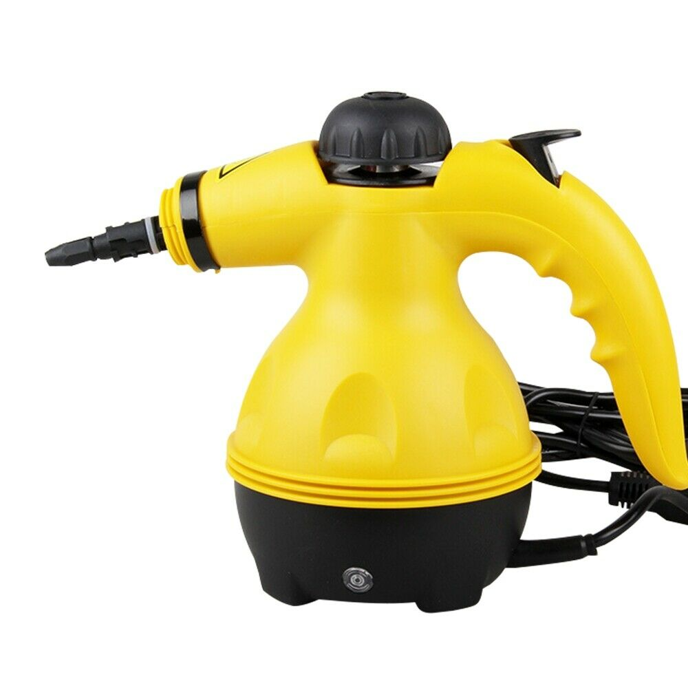 1000W Electric Steam Cleaner Handheld Steamer Household toilet Cleaning Steam Cleaner Appliances + Kitchen Brush Tools EU Plug