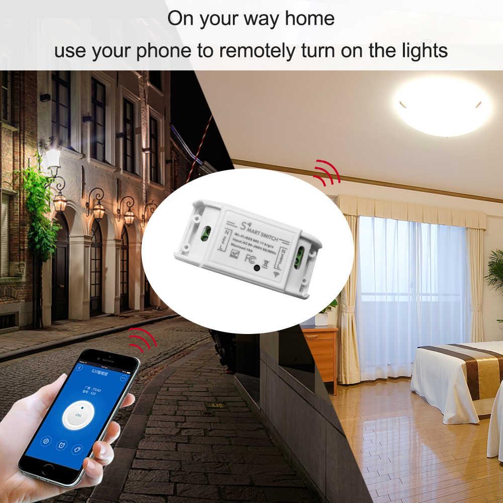 Tuya Wifi умный таймер беспроводной пульт дистанционного управления универсальный модуль автоматизации умного дома для Alexa Google home