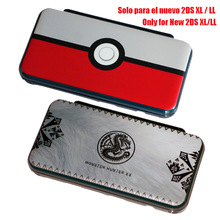 Protective-Shell-Case Skin-Case 2DSLL New 2ds for XL Hard Carry-Guard-Cover