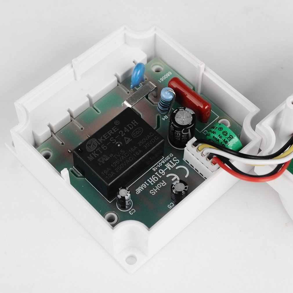 Control de temporizador de relé con interruptor de tiempo Digital programable de 7 días semanal de 220V 10A de SINOTIMER para aparatos eléctricos con reloj despertador