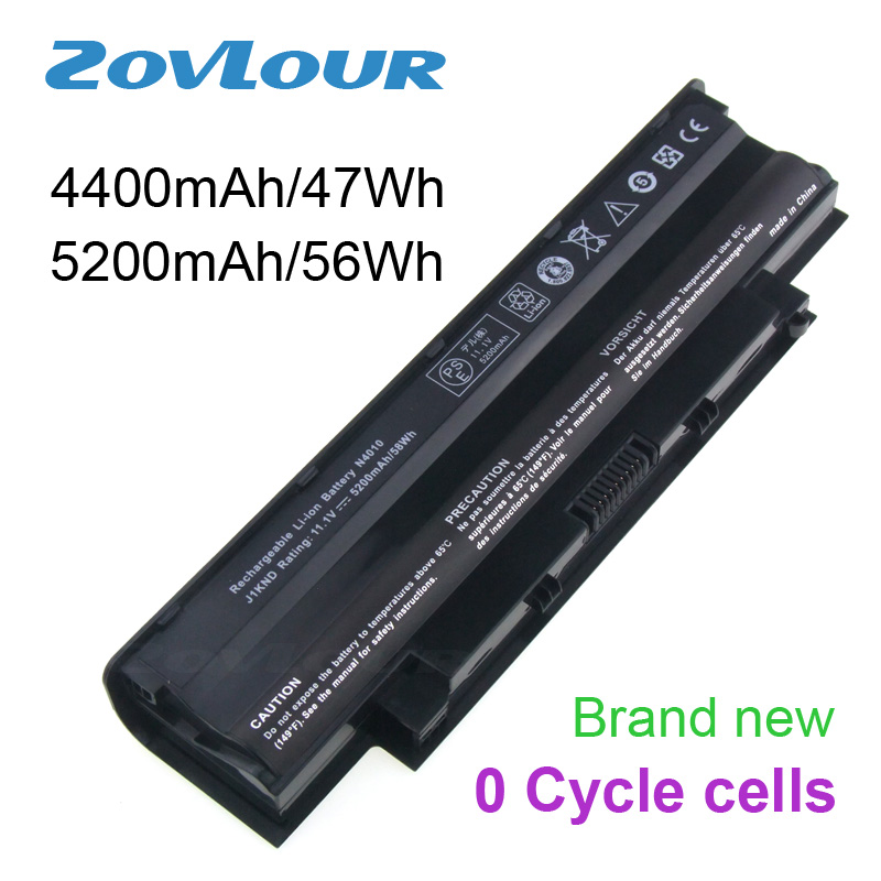 Zovlour Laptop Battery J1KND For Dell Inspiron 13R 14R 15R 17R N3010 N4010 N5010 N5030 N7010 Decoded PC Computer