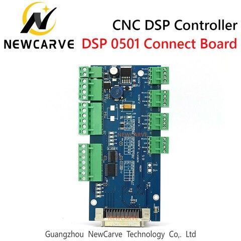 Placa de Fiação Eixos para Cnc Controlador Conectar Roteador Newcarve Dsp0501 3