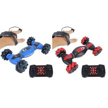 Remote Control Stunt Toy Car 2.4G Gesture Sensing Four-Wheel Stunt Car Children Remote Control Stunt Toy Car