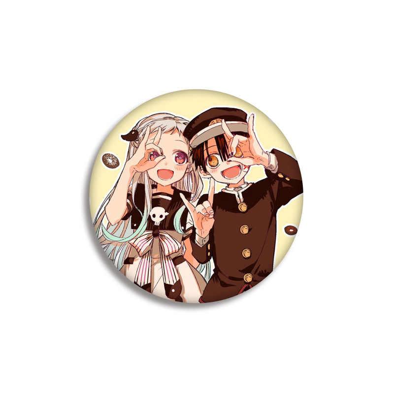 Toilet-Bound Hanako-Kun Anime Lencana Di Ransel NENE Anime Ikon Pins Lencana Dekorasi Bros Logam Lencana untuk Pakaian DIY