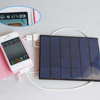 Newly Solar Panel System Charger 3.5W 6V Charging for Mobile Phone Power Bank Camping MK 5